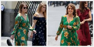 princess eugenie alice and olivia rewear recycle engagement dress