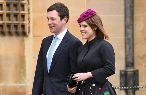 The Royal Family Attend Easter Service At St George's Chapel, Windsor
