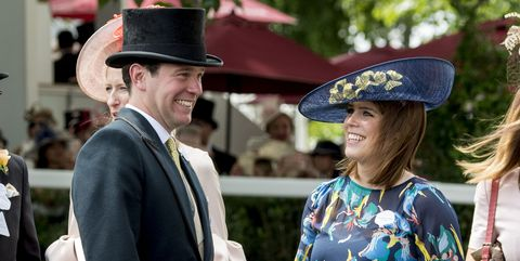 What time is Princess Eugenie's wedding
