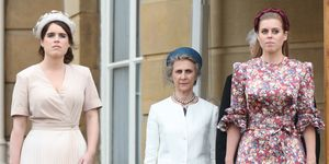 princess beatrice princess eugenie style The Queen Hosts Garden Party At Buckingham Palace