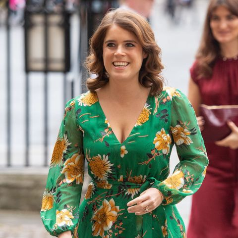Princess Eugenie attends combating modern slavery events