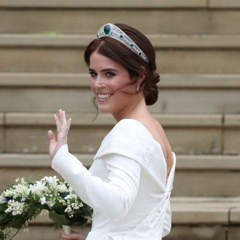 eugenia de york boda vestido de novia