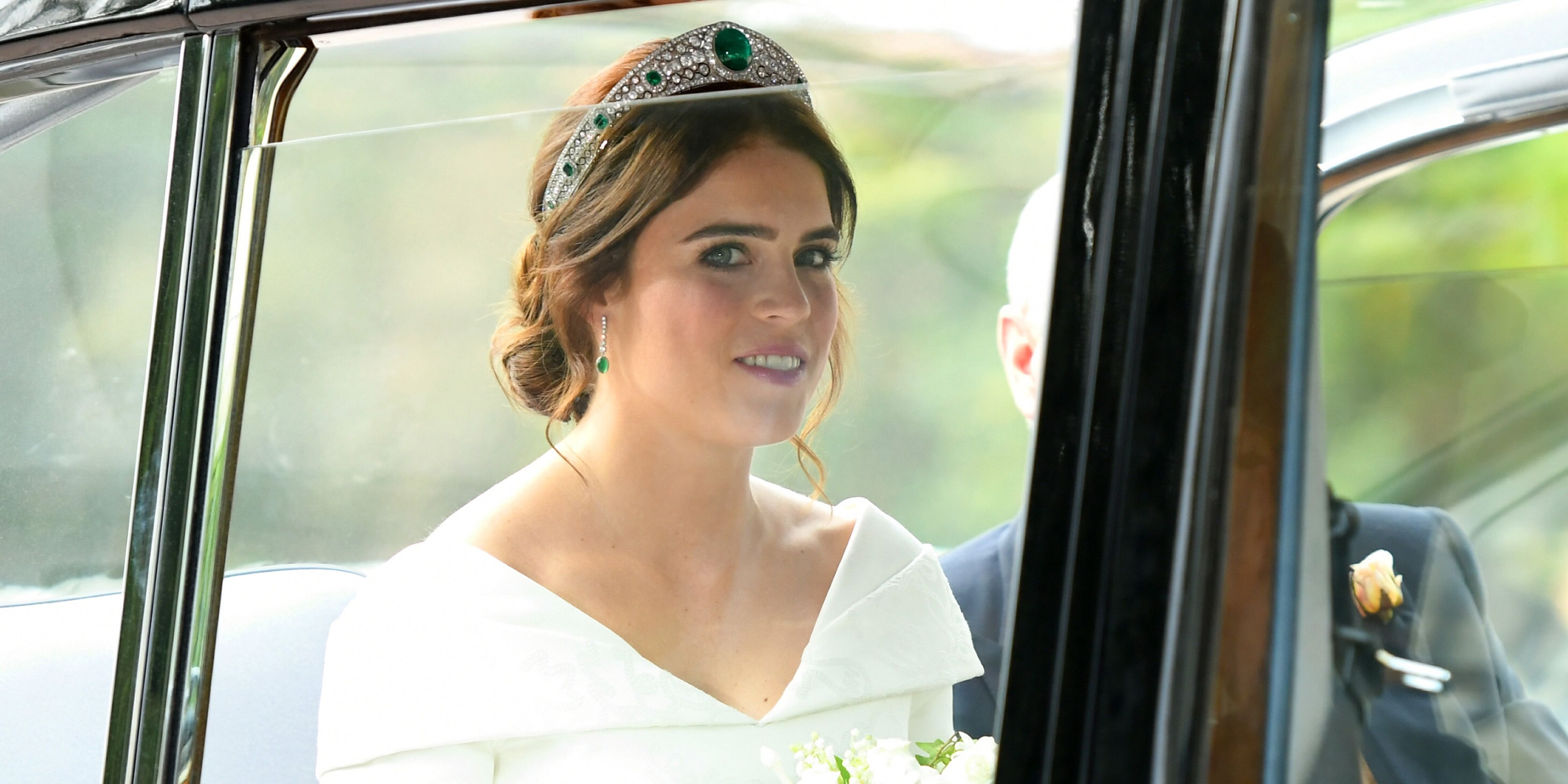 Princess Eugenies Wedding Hairstyle Princess Eugenie Channels