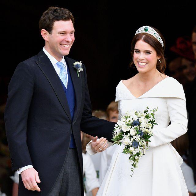 princess eugenie third wedding anniversary
