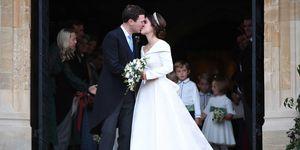 Princess Eugenie Jack Brooksbank kiss