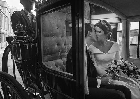 8b12ecd66b84 Princess Eugenie s Second Wedding Dress by Zac Posen Was a Totally ...