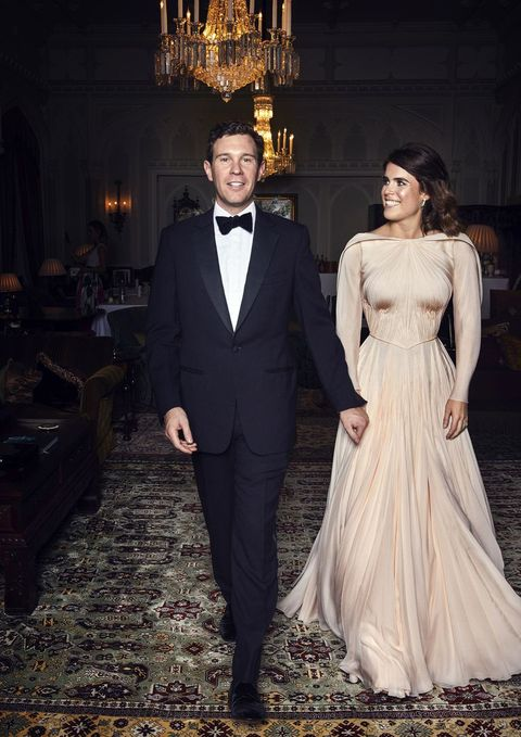 Princess Eugenie\'s Second Royal Wedding Dress Compared To Meghan ...