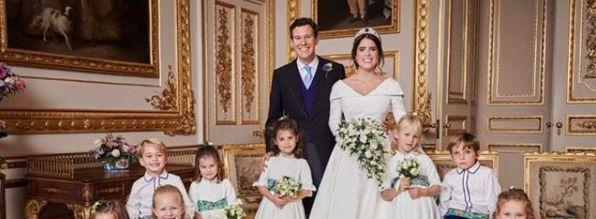 princess eugenie jack brooksbank official wedding photos