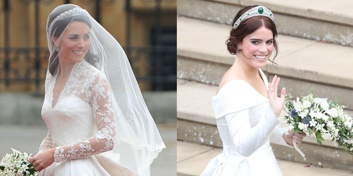 How Princess Eugenie's Royal Wedding Dress Compares To