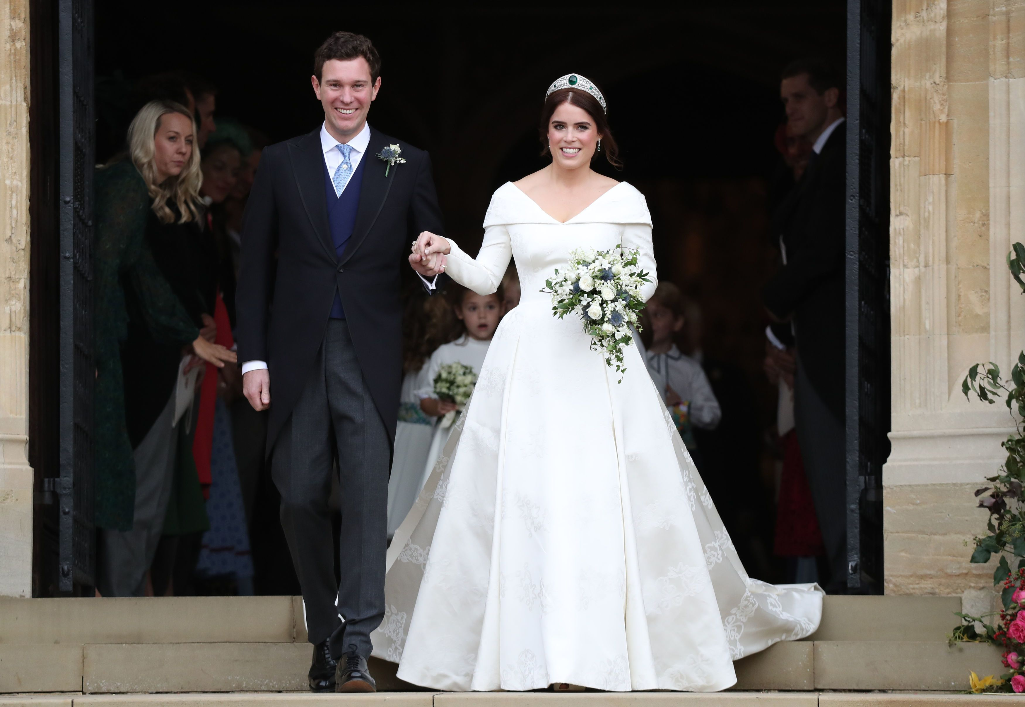 Princess Eugenie And Jack Brooksbank S Wedding Outfits Go On
