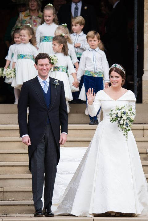 Princess Eugenie Wedding.12 Hidden Details You Missed On Princess Eugenie S Wedding Dress