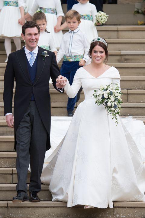 Eugenie Wedding Dress.12 Hidden Details You Missed On Princess Eugenie S Wedding Dress