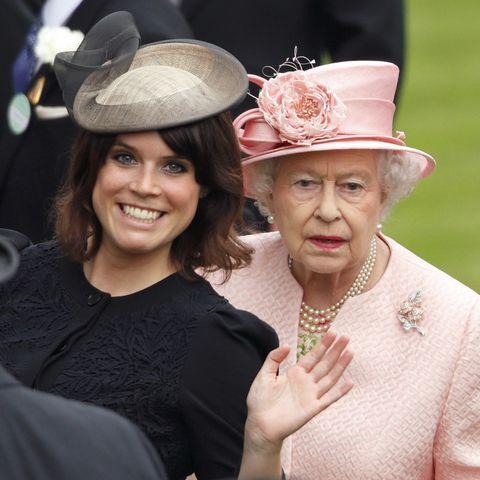 Queen Elizabeth and Eugenie