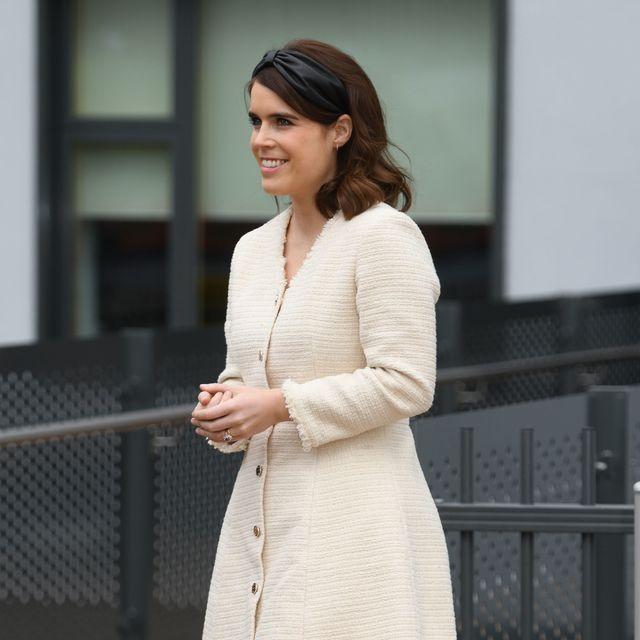 princess eugenie visits the royal national orthopaedic hospital