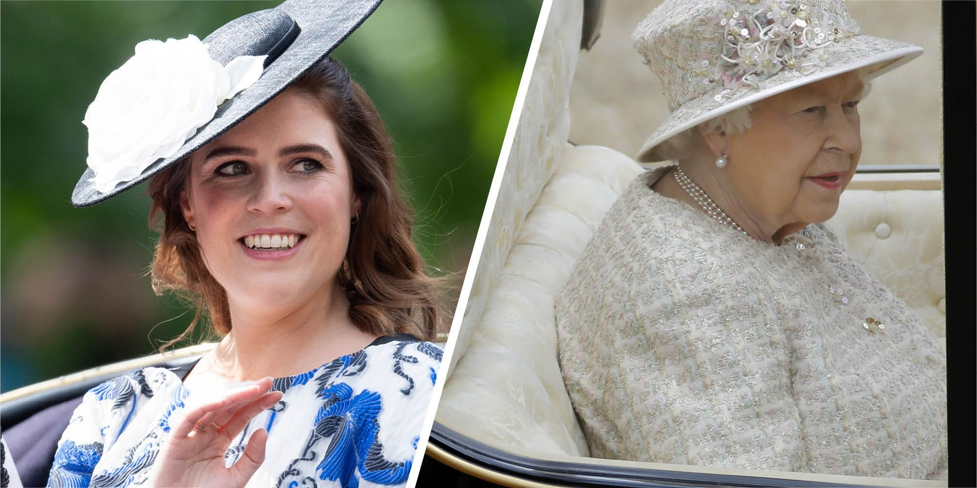 The Queen's sweet tribute to Princess Eugenie at Trooping