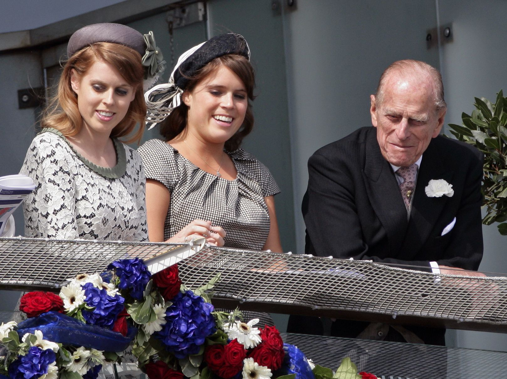 """Princess Eugenie Promises Prince Philip """"We Will Look After Granny"""""""