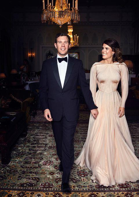 princess eugenie second wedding dress