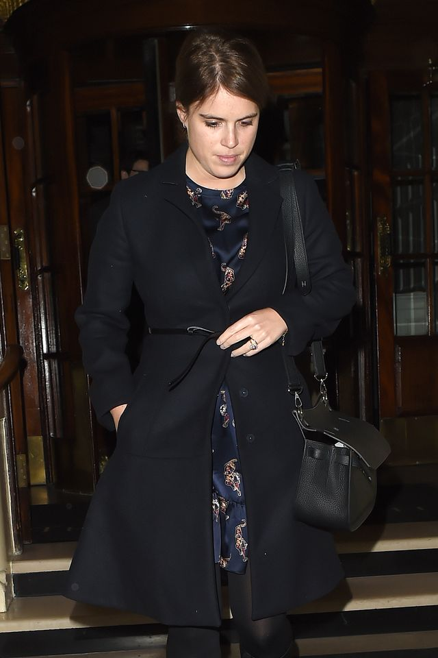 london celebrity sightings    january 13, 2020
