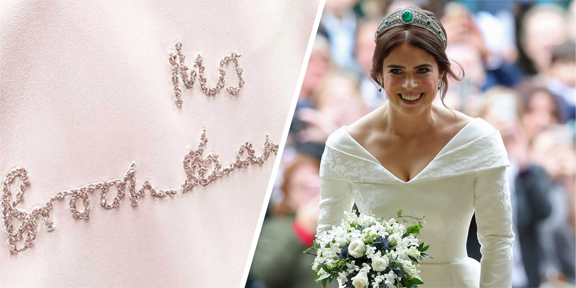 Eugenie Wedding Dress.Princess Eugenie Third Wedding Dress The Princess Broke Royal