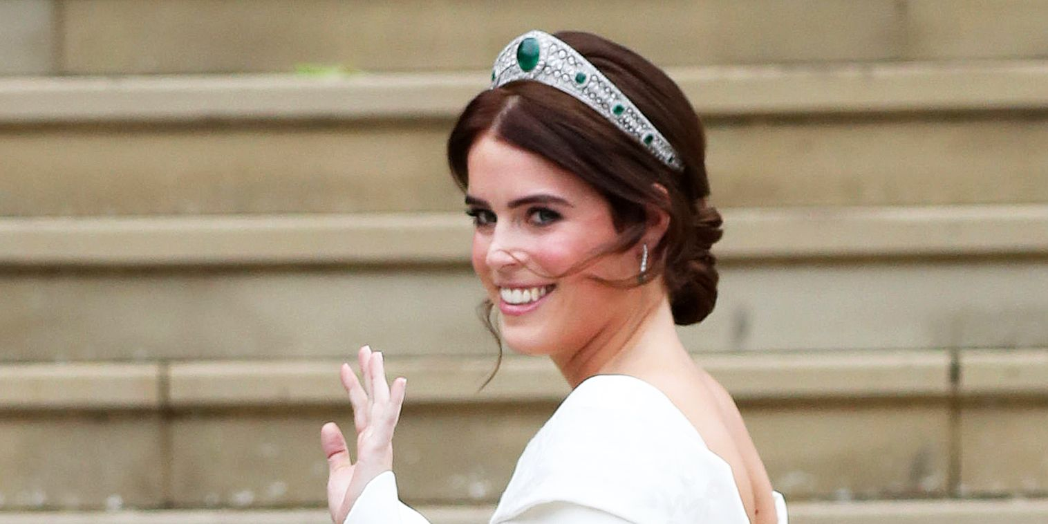 BRITAIN-ROYALS-WEDDING-EUGENIE
