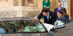 princess eugenie wedding dress care