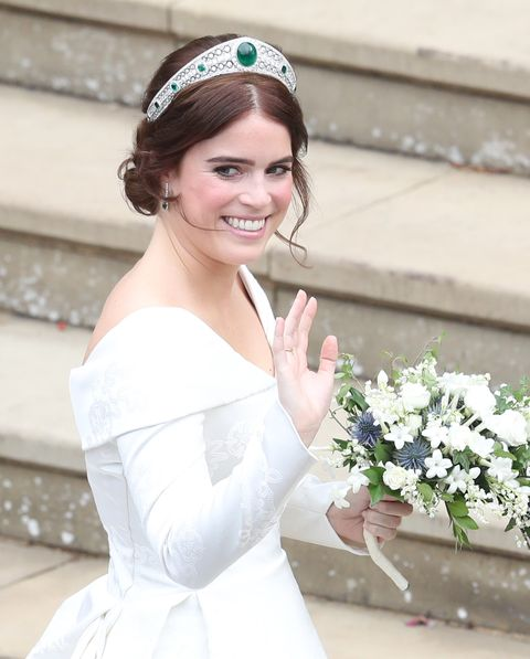 Royal Fans Love How Princess Eugenie S Low Back Wedding