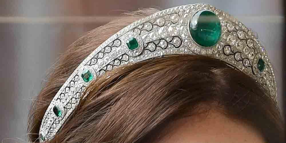 Princess Eugenie's wedding hairstyle
