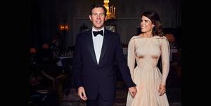 Princess Eugenie and Jack Brooksbank at their wedding reception
