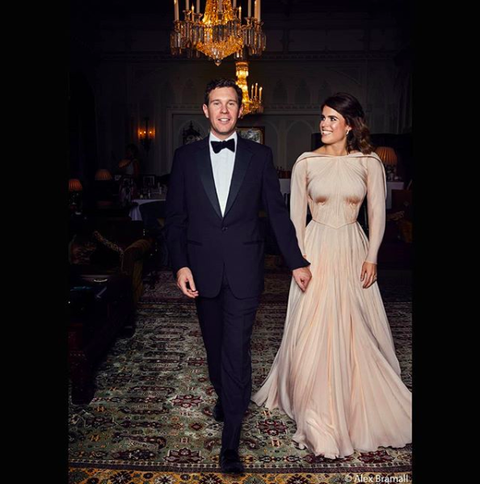 e51bf77287 Zac Posen shares a closer look at the back of Princess Eugenie s ...