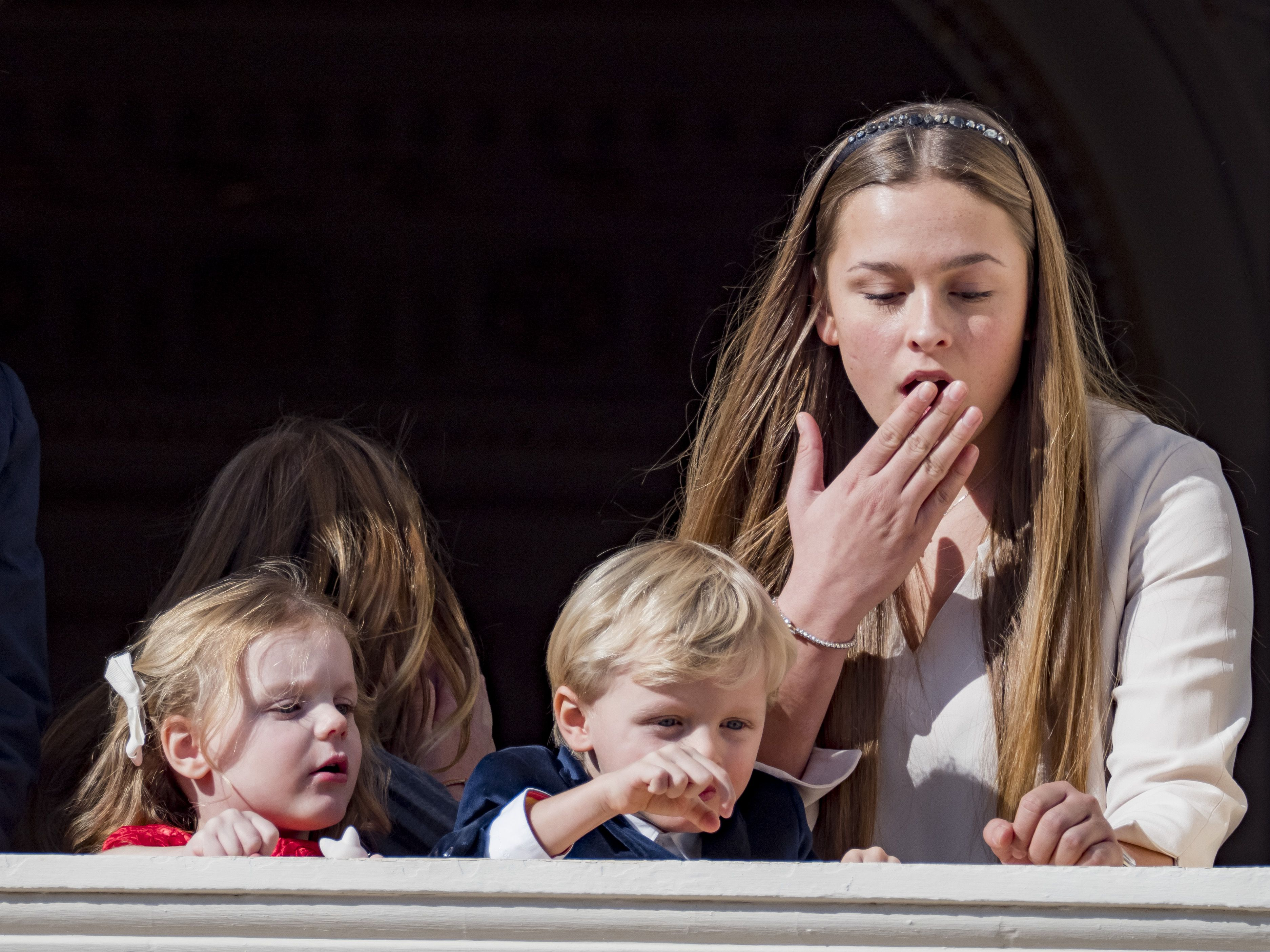 Photos of Prince Jacques Dropping His Action Figure from the Royal
