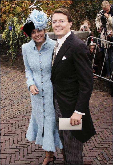 church wedding ceremony of prince floris of the netherlands and aimee sohngen in naarden, netherlands on october 22, 2005