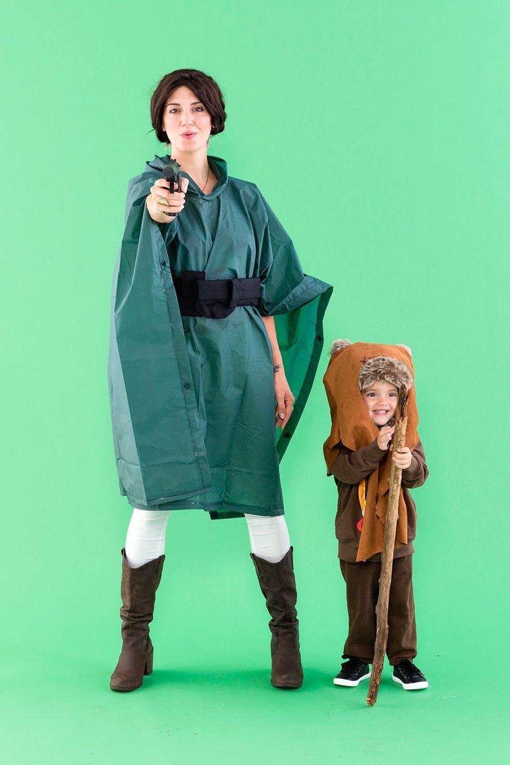 leia and ewok costume diy