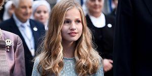 Princesa Leonor en los Príncipes de Asturias de 2019