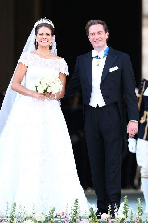 スウェーデン王室 マデレーン王女 クリストファー・オニール ヴィクトリア皇太子 ダニエル王子 ブルックリン・ベッカム ニコラ・ぺルツ 玉の輿 逆玉の輿 富豪 金持ち 結婚 離婚 ウエディング