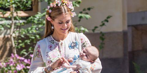 Christening  Of Princess Adrienne Of Sweden