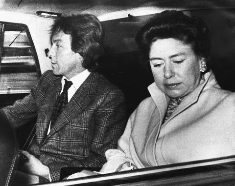 Princess Margaret and Roddy Llwellyn