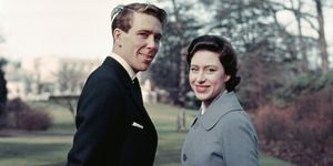 Princess Margaret and Anthony Armstrong-Jones...