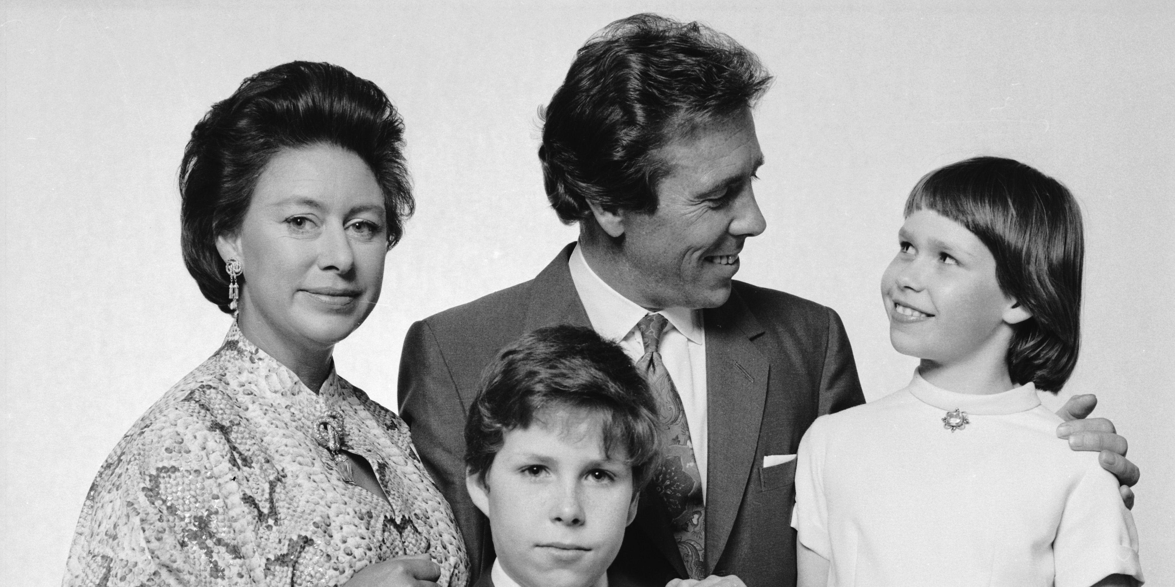 Princess Margaret and her children