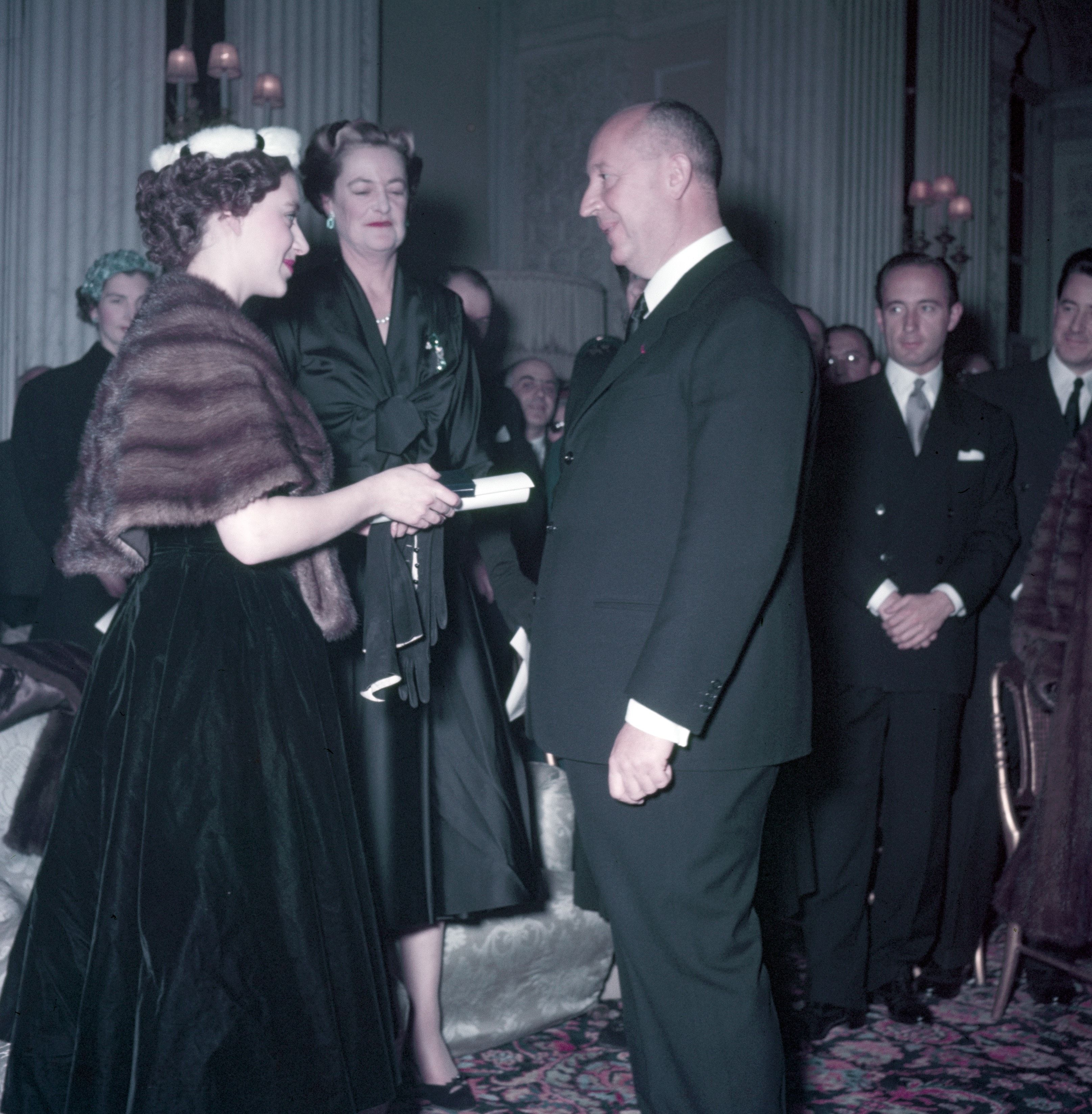 Princess Margaret And Christian Dior