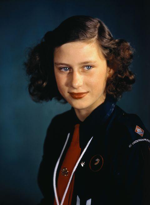 princess margaret rose wearing girl guides uniform