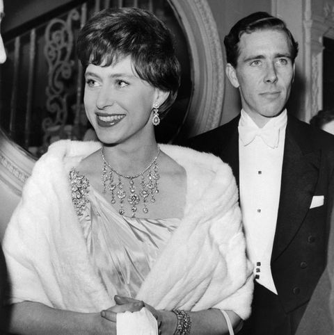 Princess Margaret, the younger sister of future Br