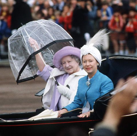 princess Margaret And the Queen Mother