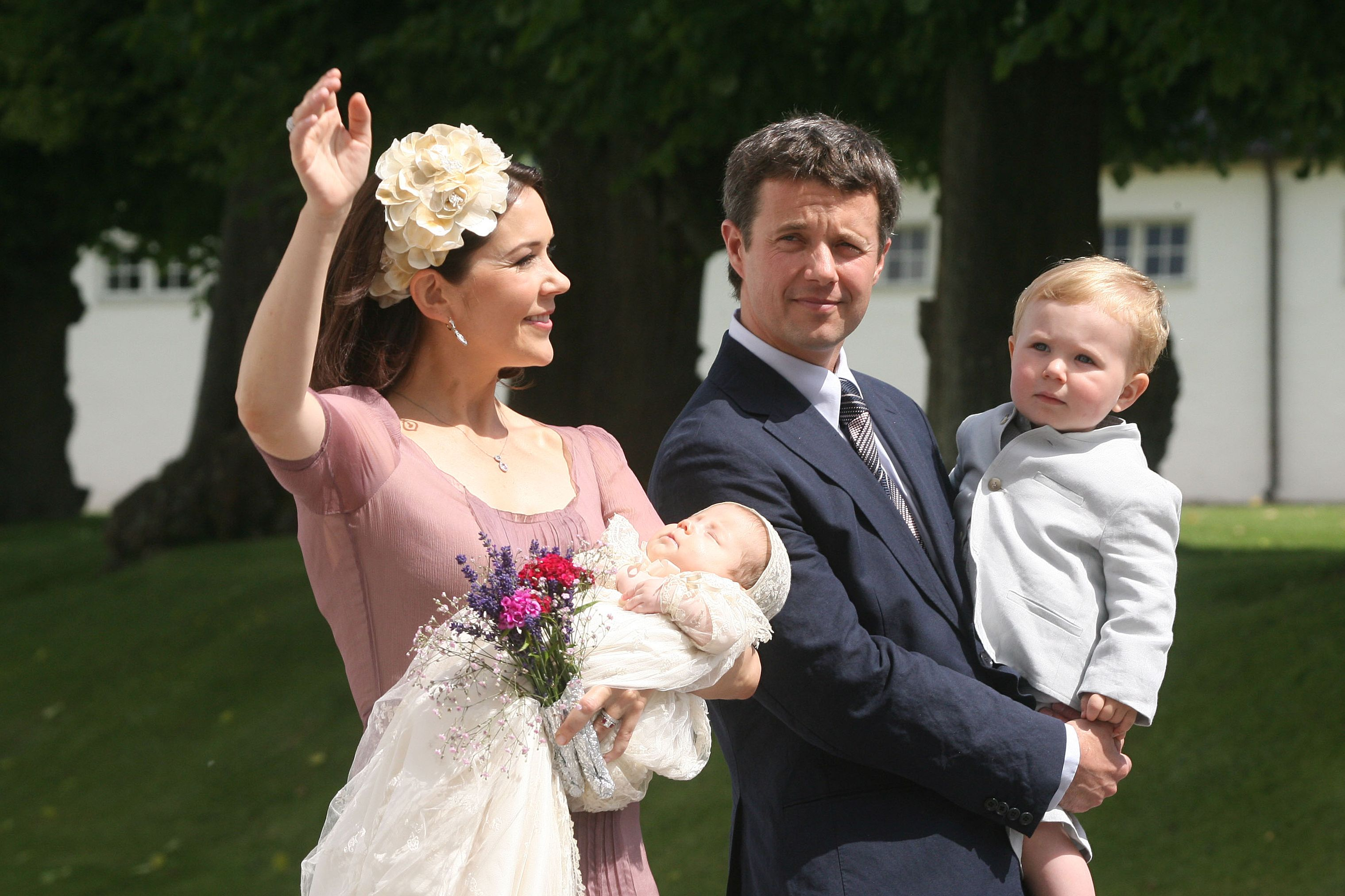 Danish Royals Christen Their New Daughter