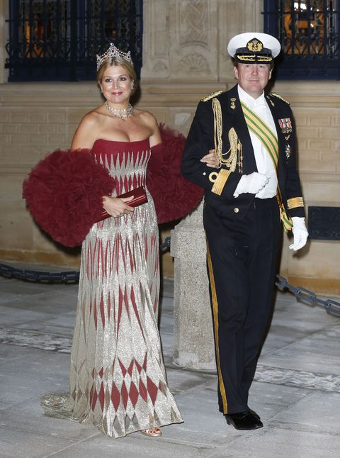 the wedding of prince guillaume of luxembourg  stephanie de lannoy   gala dinner