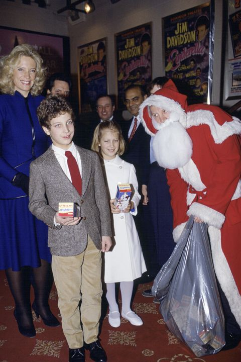Michael Of Kent Family And Father Christmas
