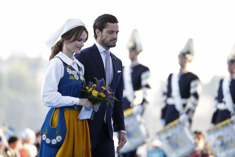 princess sofia prince carl philip National Day in Sweden 2019