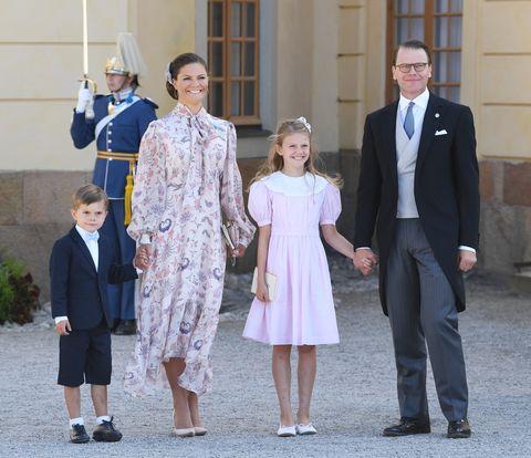 スウェーデン王室 カール16世グスタフ国王、シルヴィア王妃 ヴィクトリア皇太子
