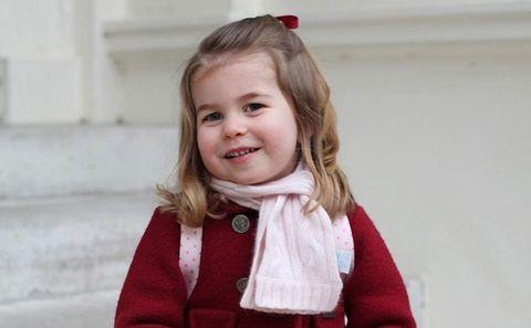 Hair, Child, Blond, Toddler, Child model, Outerwear, Neck, Smile, Brown hair, Pattern,