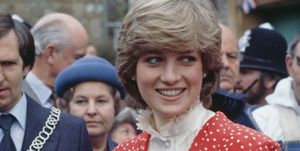 Princess Diana in 1981