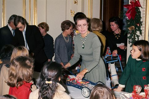 Grace Kelly's Son, Monaco's Prince Albert, Hosts the Annual Christmas Children's Party in the Palace